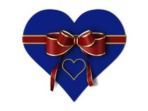 Gift of the heart. Stock Photos