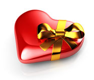 Gift heart Stock Images