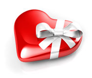 Gift heart Royalty Free Stock Image