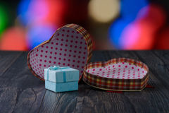 Gift heart holiday Royalty Free Stock Image