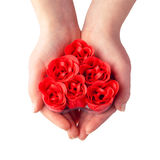 Gift heart Stock Image