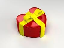 Gift heart wedding ring valentine day royalty free illustration