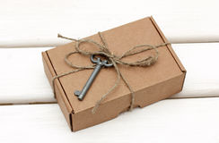 A gift with a hint Royalty Free Stock Photography