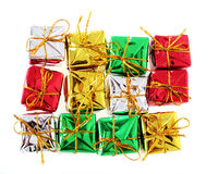 Gift hollidays presents Royalty Free Stock Photos