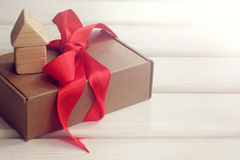 Gift with a house Stock Image