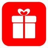 Gift icon Royalty Free Stock Photography