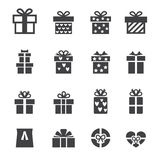 Gift icon. Web icon illustration design vector sign symbol stock illustration