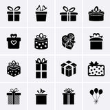 Gift Icons. Stock Images
