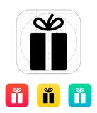 Gift icons on white background. Royalty Free Stock Images