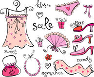 Gift Ideas for girl. Stock Images
