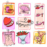 Gift Ideas for girl Stock Images