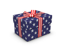 Gift for the Independence Day Stock Photo