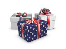 Gift for the Independence Day Royalty Free Stock Photography