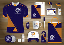 Gift Items business corporate identity, Vector abstract Color promotional souvenirs design with origami elements for bus car conce. Gift Items With business vector illustration