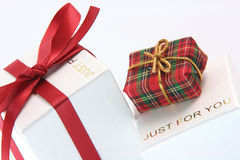 Gift just for you Stock Image