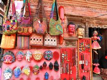 The gift at Kathmandu Durbar Square at Kathmandu Valley, Nepal Stock Photography