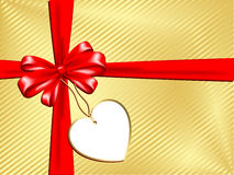 Gift with label Stock Images