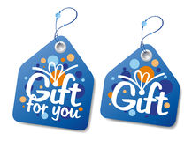 Gift labels. Stock Image