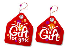 Gift labels. Stock Photography