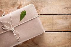 Gift leaf Royalty Free Stock Photography