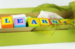 Gift of Learning Royalty Free Stock Photography