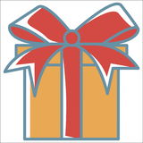 Gift line icon Stock Photo