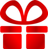 Gift logo Stock Photography