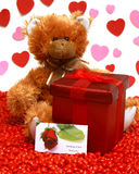 Gift With Love stock photo