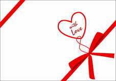 Gift with love Royalty Free Stock Images