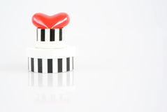 A gift with love Stock Image
