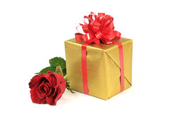 Gift with love Royalty Free Stock Photo