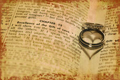 Gift of Love royalty free stock photos