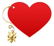Gift love heart Stock Photography