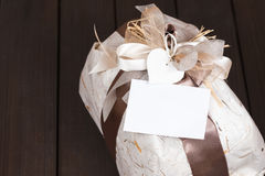 Gift with love stock photography