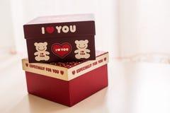 Love gift box Stock Photography