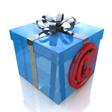 Gift-mail Stock Image