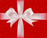Gift met linten Royalty-vrije Stock Afbeelding