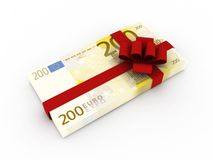 Gift of money Royalty Free Stock Photo