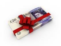 Gift of money Royalty Free Stock Photos