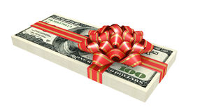 Gift of money, Royalty Free Stock Image
