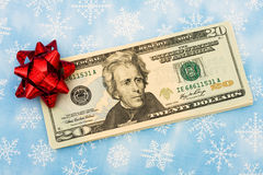 Gift of Money Royalty Free Stock Images