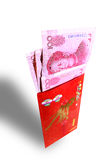 Gift Money for Chinese New Year Royalty Free Stock Photo