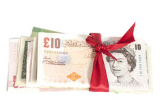 Gift of money Stock Images