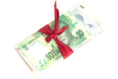 Gift of money Stock Photos