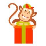 Gift monkey Stock Photography