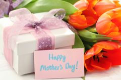 Gift for Mother's Day Stock Photo
