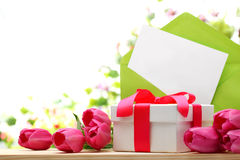 Gift for Mother's Day Royalty Free Stock Image