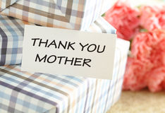 Gift for Mother's Day Royalty Free Stock Photography