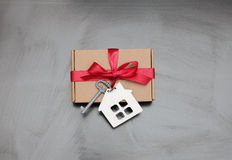 Gift new home Stock Photos