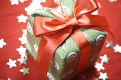 gift new year Στοκ εικόνες με δικαίωμα ελεύθερης χρήσης